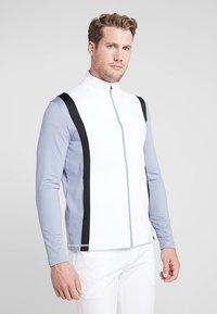 Cross Sportswear - CALI FULL ZIP - Fleecová bunda - stonewash - 0