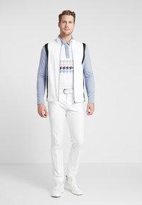 Cross Sportswear - CALI FULL ZIP - Fleecová bunda - stonewash - 1