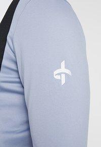Cross Sportswear - CALI FULL ZIP - Fleecová bunda - stonewash - 4