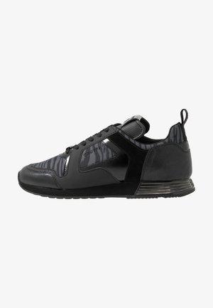 LUSSO ZEBRA - Sneakersy niskie - dark grey