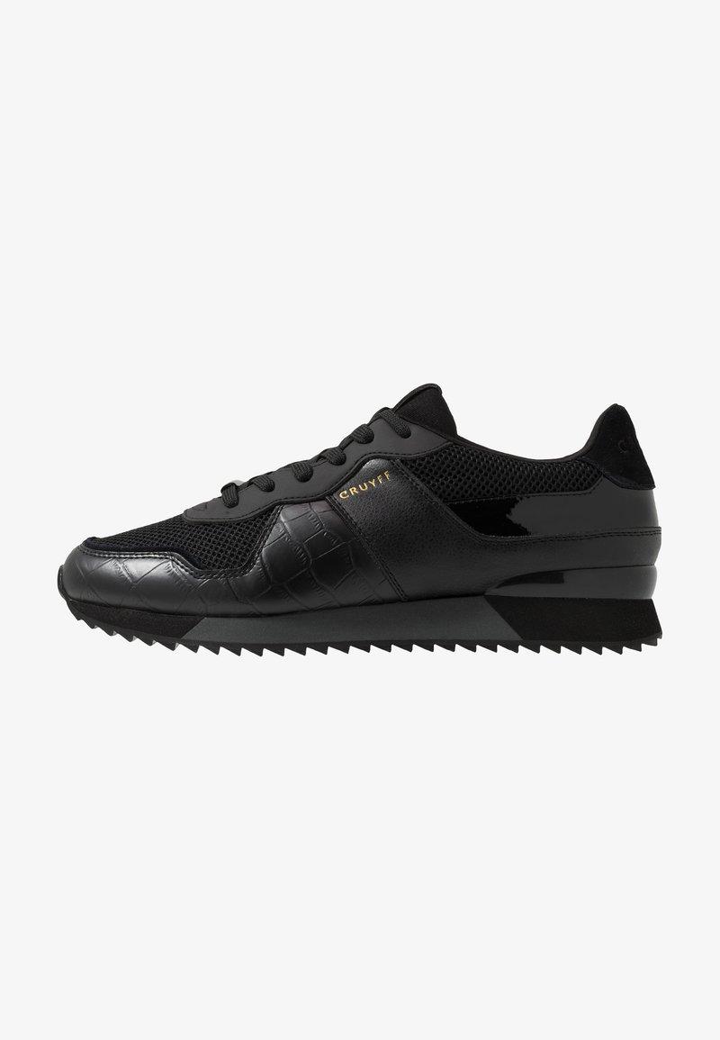 Cruyff - COSMO - Matalavartiset tennarit - black