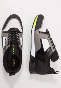 Cruyff - LUSSO - Sneakers - dark grey/fluo yellow - 1