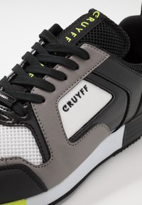 Cruyff - LUSSO - Sneakers - dark grey/fluo yellow - 5