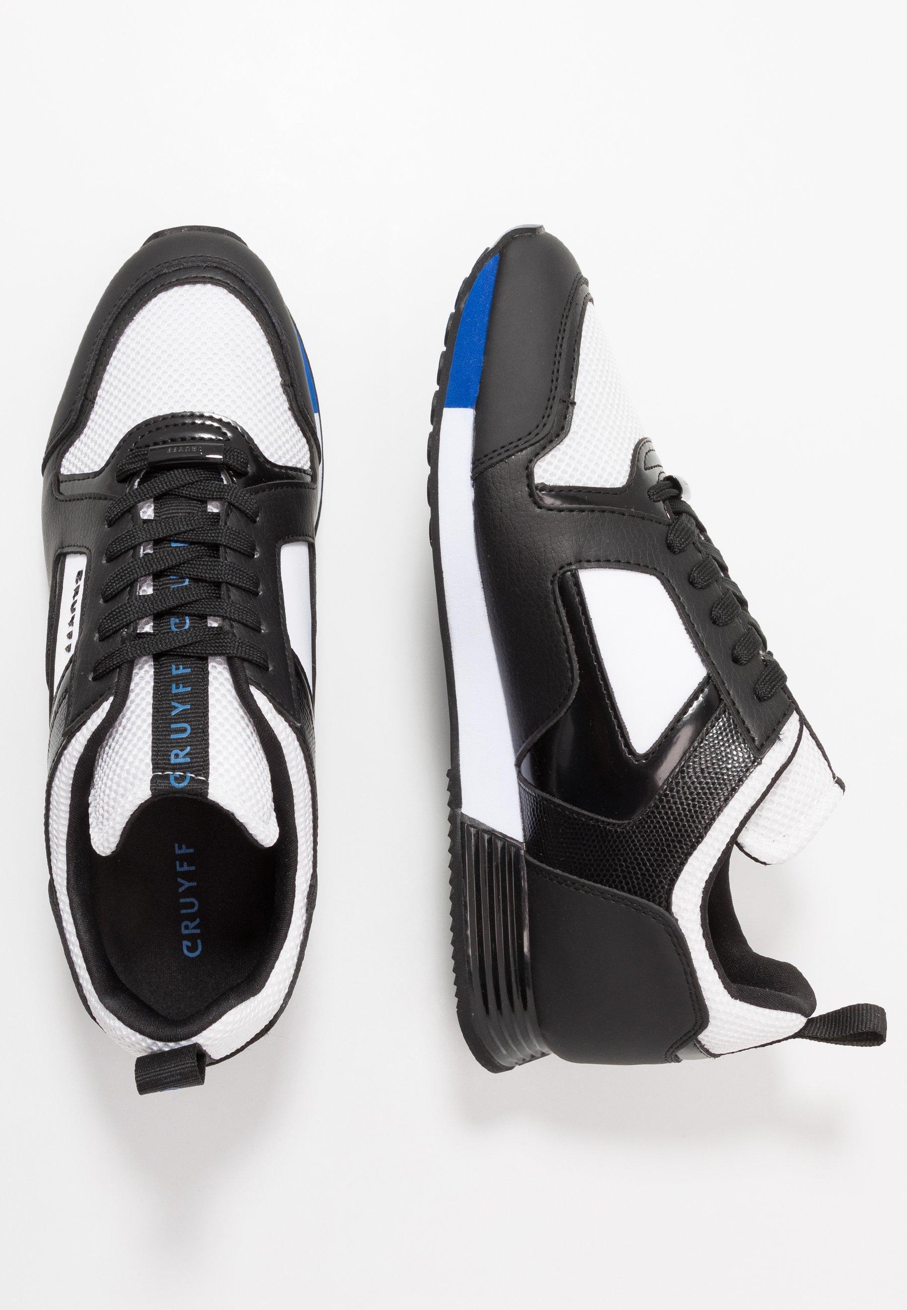 Cruyff LUSSO - Sneakersy niskie - white/max blue