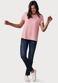 Crew Clothing Company - BRETON - T-shirt print - pink - 1