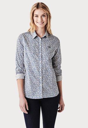 Button-down blouse - cloud