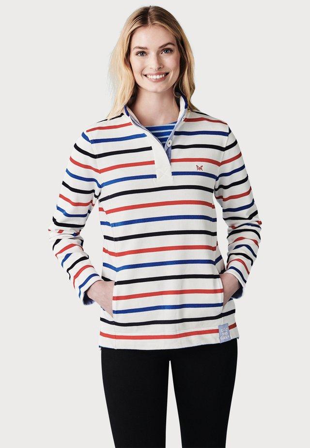 PADSTOW - Poloshirt - white/navy