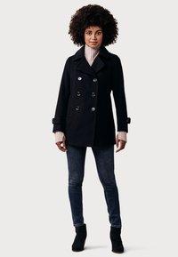 Crew Clothing Company - DARLINGTON  - Halflange jas - dark blue - 1