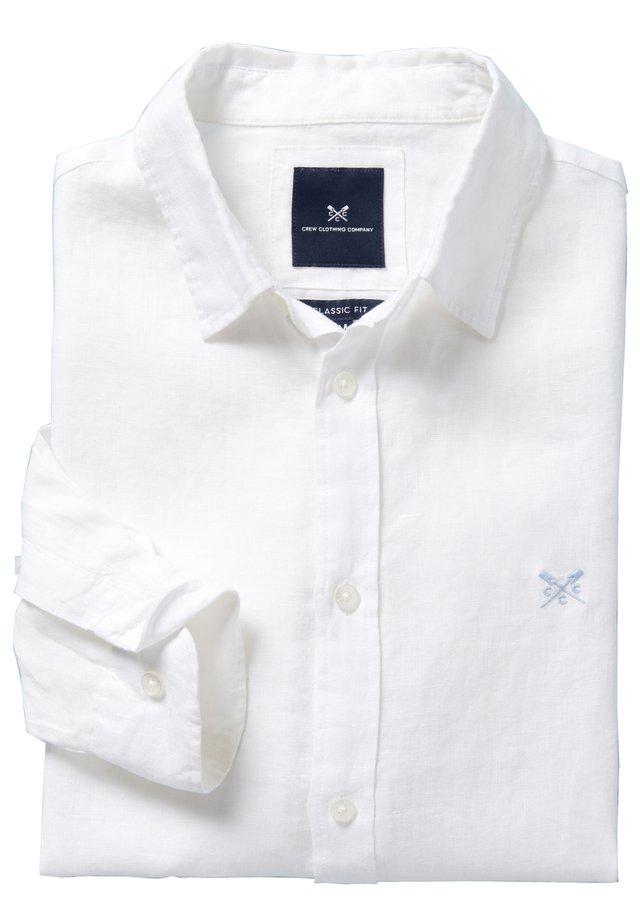 LINEN - Chemise - white