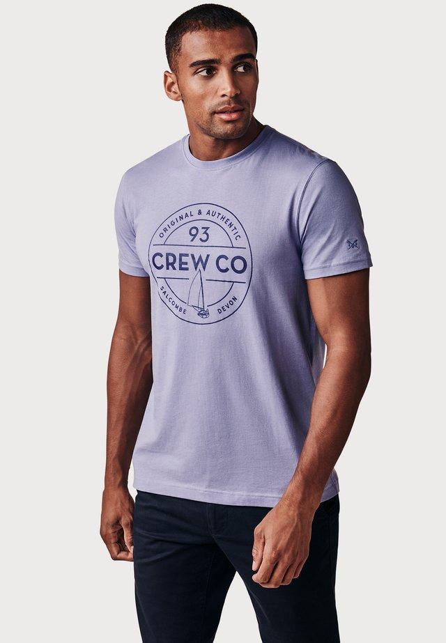 T-shirt print - Lilac Haze