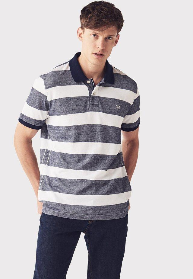 CREW CLOTHING MALE OXFORD POLO IN SIZE XXXL - Poloshirt - blue