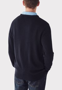 Crew Clothing Company - FOXLEY  - Trui - dark blue - 2