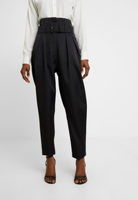 Cras - ALADINCRAS PANTS - Pantalon classique - black - 0