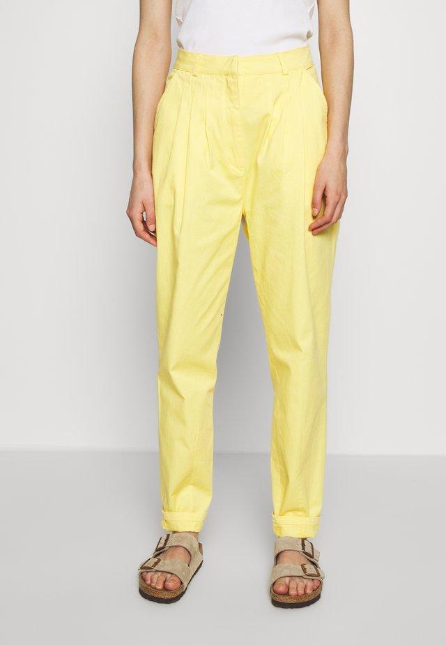 DANACRAS PANTS - Trousers - lemon meringue