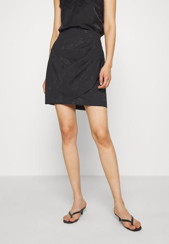 NELLYCRAS SKIRT - A-line skirt - black
