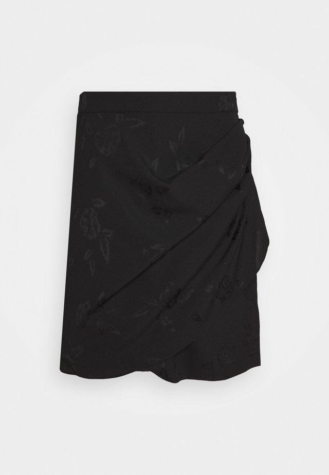 NELLYCRAS SKIRT - A-linjekjol - black