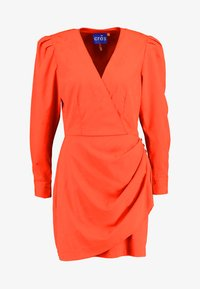 Cras - YVONNECRAS DRESS - Robe d'été - tangerine tango - 5