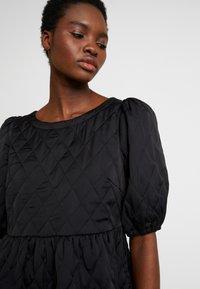 Cras - SOULCRAS DRESS - Robe d'été - black - 5