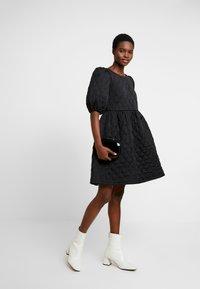 Cras - SOULCRAS DRESS - Robe d'été - black - 2