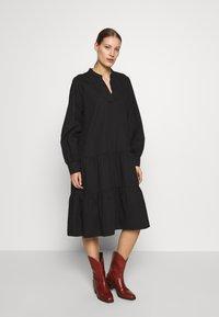 Cras - LUCIACRAS DRESS - Robe d'été - black - 0