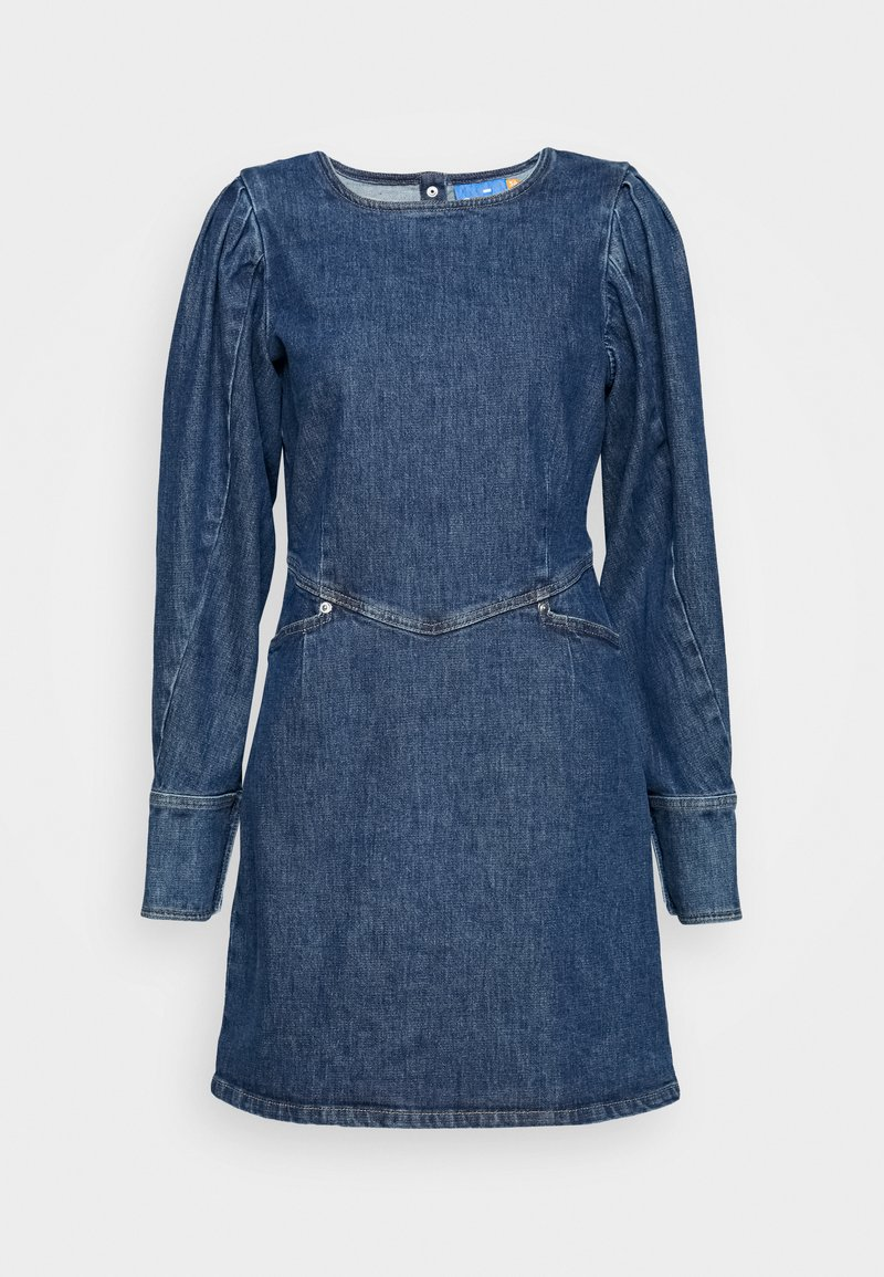 Cras - FANNYCRAS DRESS - Robe en jean - denim light blue