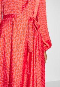 Cras - MONO DRESS - Robe longue - orange - 4
