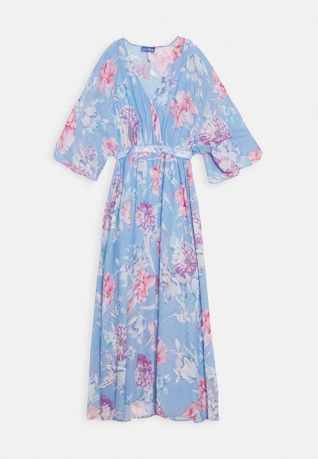 LUNA MAXI DRESS - Robe de cocktail - light blue/pink