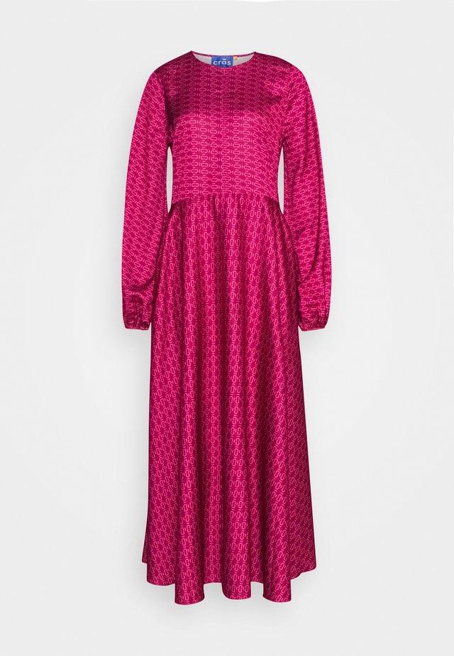 LAICRAS DRESS - Vapaa-ajan mekko - plum