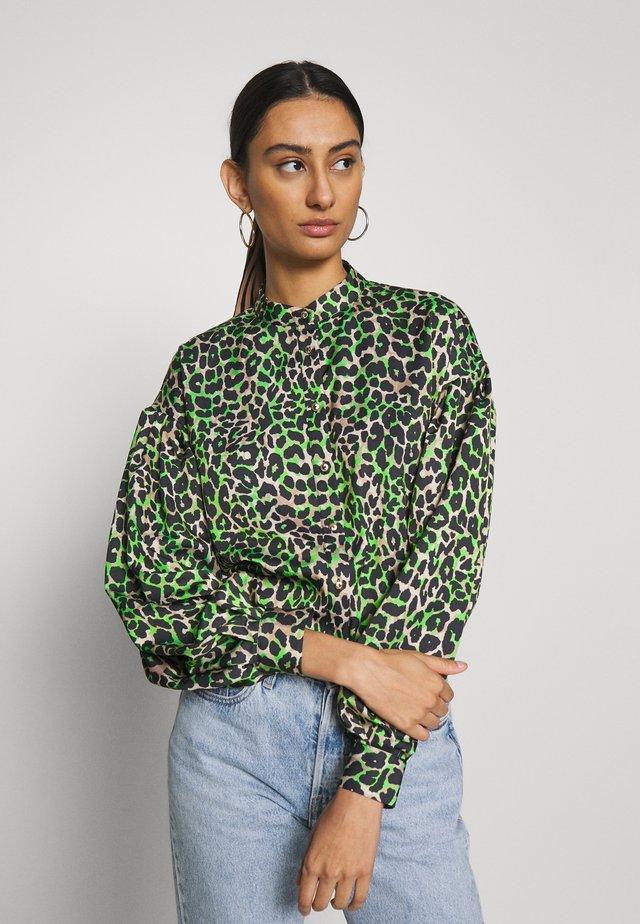 LANICRAS - Button-down blouse - green