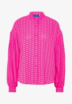 ZAGA SHIRT - Chemisier - pink/red