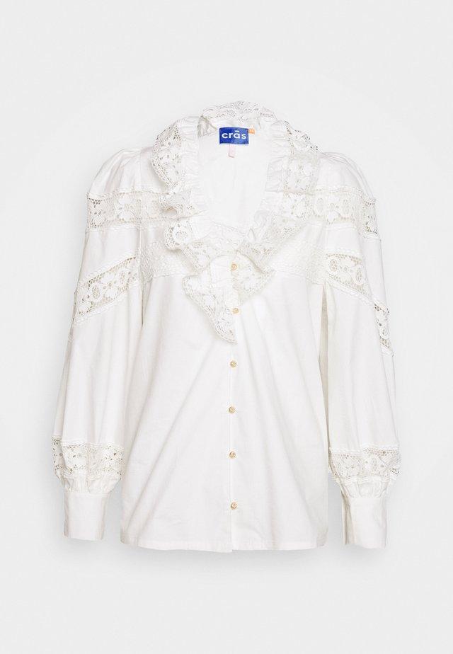 LOUISECRAS - Blus - white