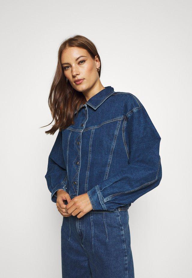 JACKET - Veste en jean - denim light blue