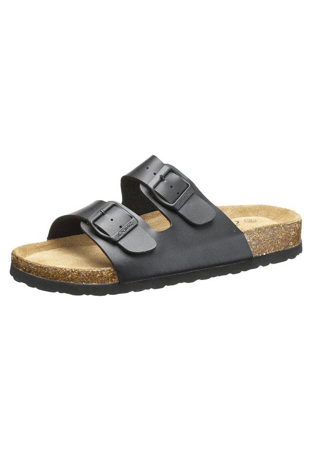 Slippers - 1001 black