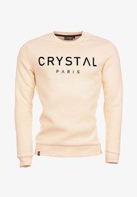 Crystal Paris - Sweatshirt - white sand - 5