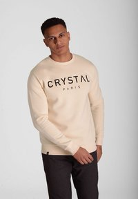 Crystal Paris - Sweatshirt - white sand - 0
