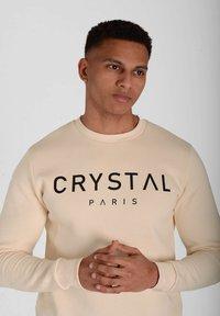 Crystal Paris - Sweatshirt - white sand - 3
