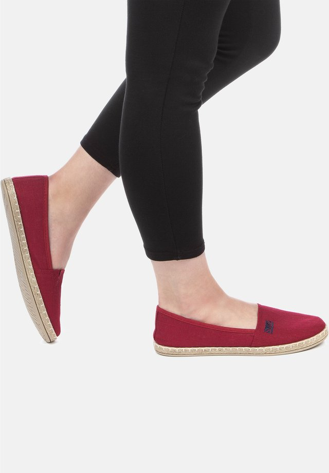 Slippers - rouge