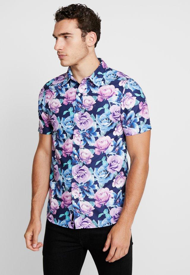 ROSES SHORT SLEEVE SHIRT - Skjorta - multi-coloured