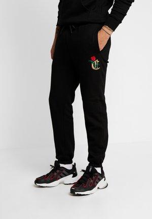 ROYAL TIMES - Pantaloni sportivi - black
