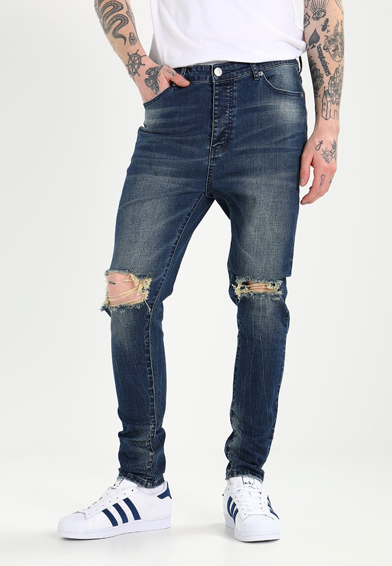 Cayler & Sons - UNCHAINED TIM - Relaxed fit jeans - sand washed blue