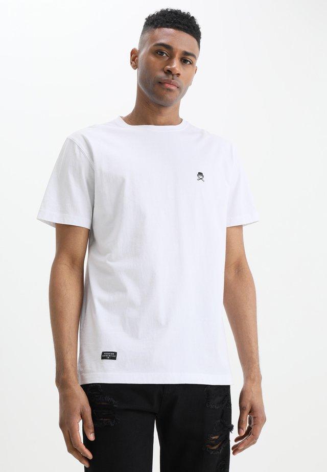 SMALL ICON TEE - T-shirt print - white/black