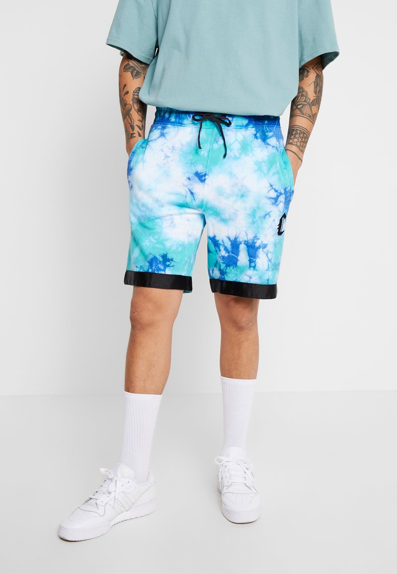 Cayler & Sons - MEANING OF LIFE TIE DYE - Joggebukse - white/blue
