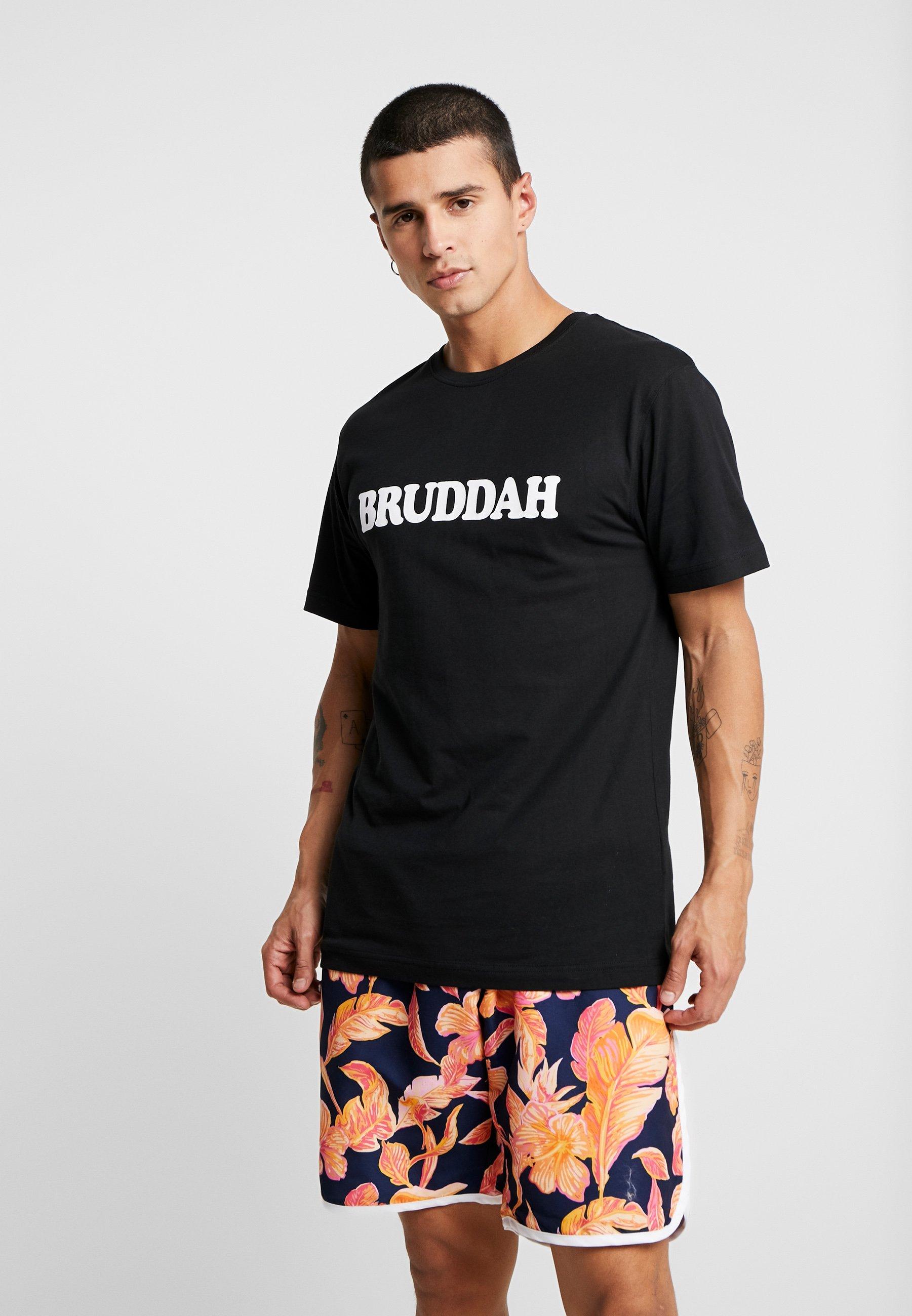 TeeT Black Imprimé white Cayleramp; Bruddah Sons shirt CxodrBe