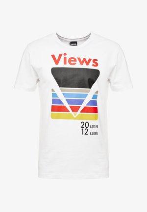 CERTAIN VIEWS TEE - T-shirts med print - white