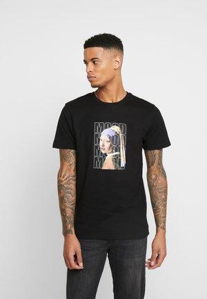 OLD MOOOOD TEE - T-Shirt print - black