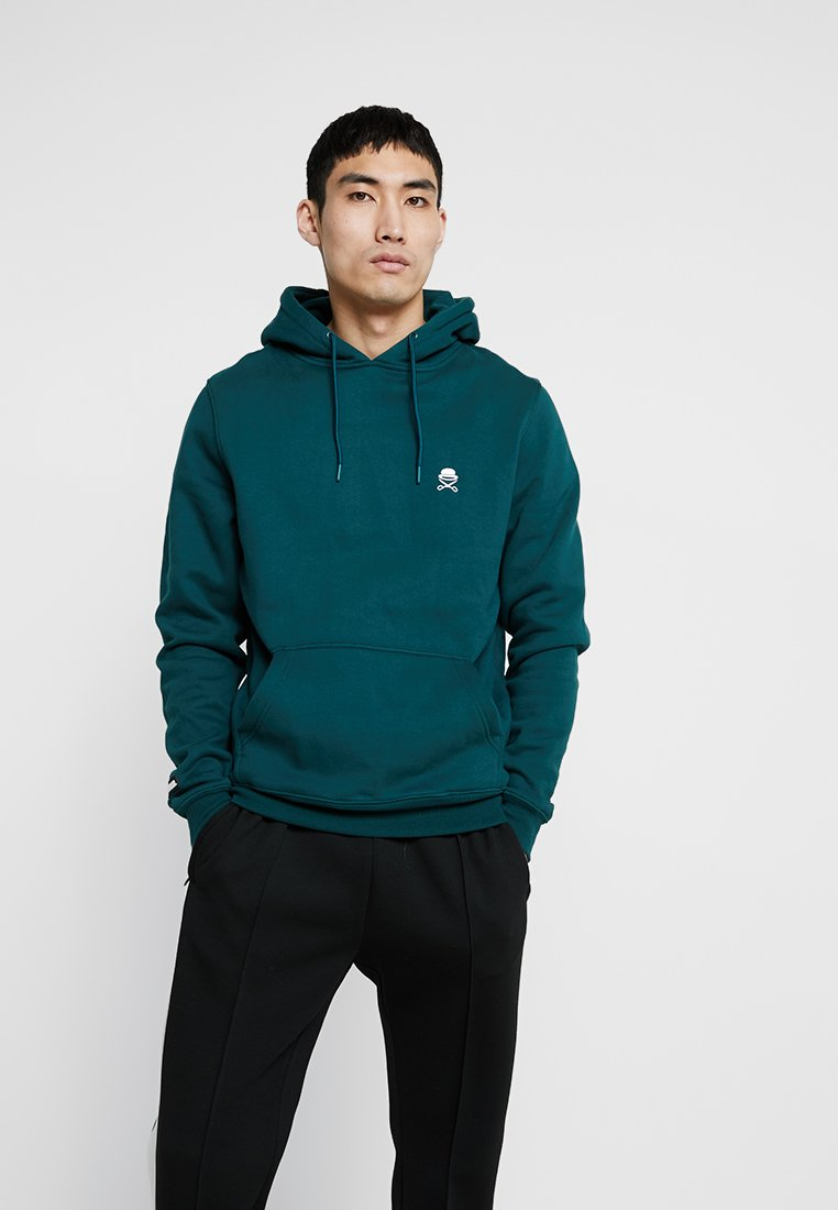 Cayler & Sons - SMALL ICON - Hoodie - ocean green/white