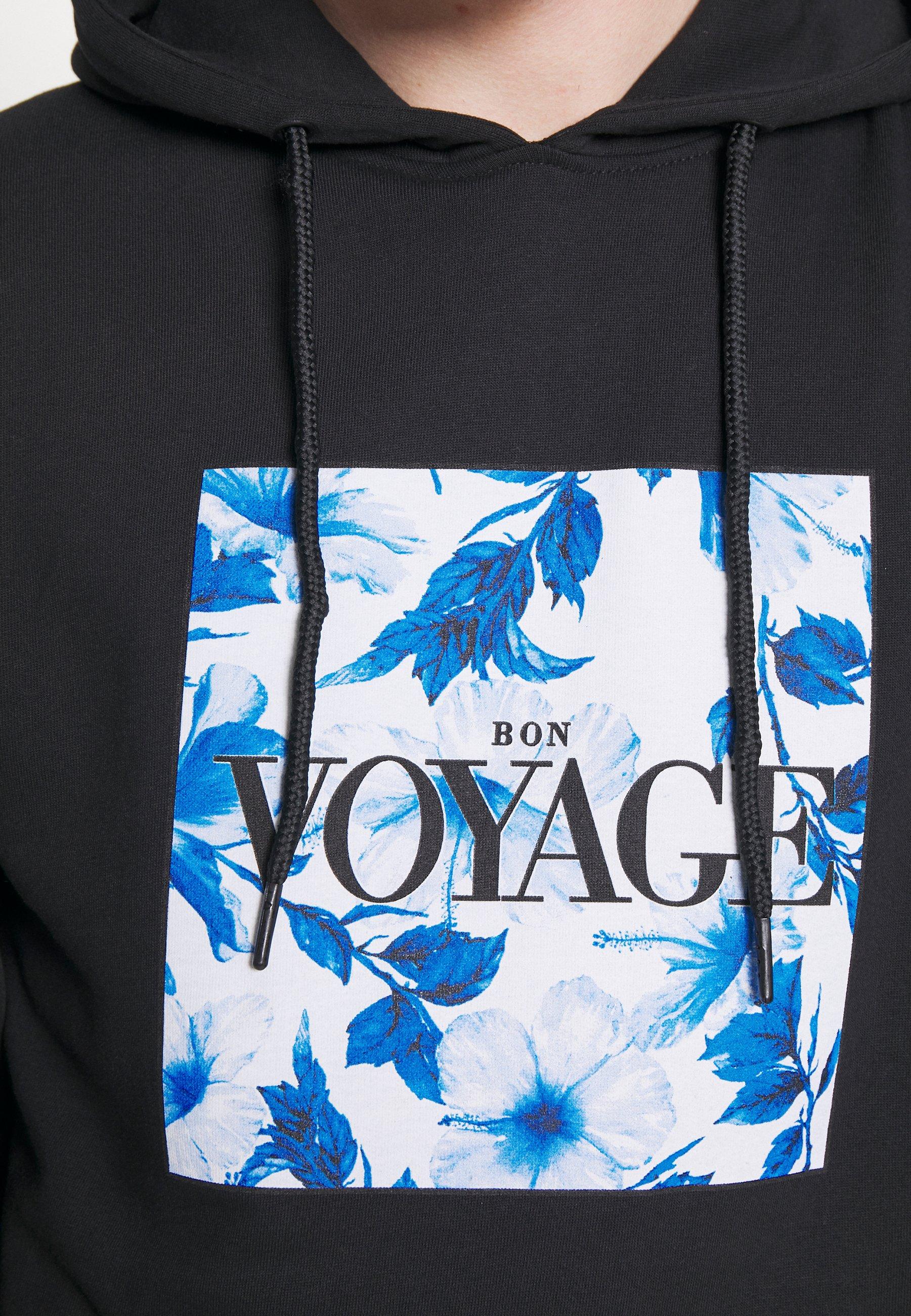 Cayler & Sons Voyage Japanese Flowers Hoody - Luvtröja Black