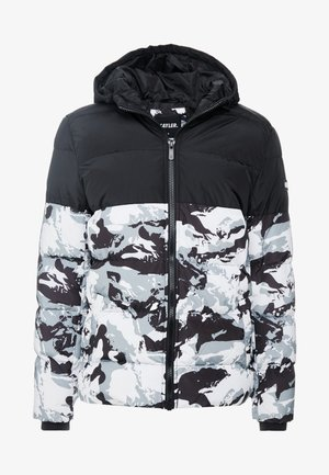 STATEMENT PUFFER JACKET - Chaqueta de invierno - snow camo/black