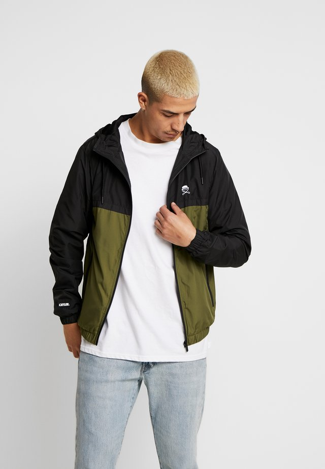 SMALL ICON  - Summer jacket - black
