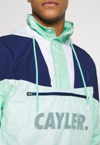 Cayler & Sons - OCEAN VIDA HALF ZIP - Chaqueta fina - mint/navy - 7